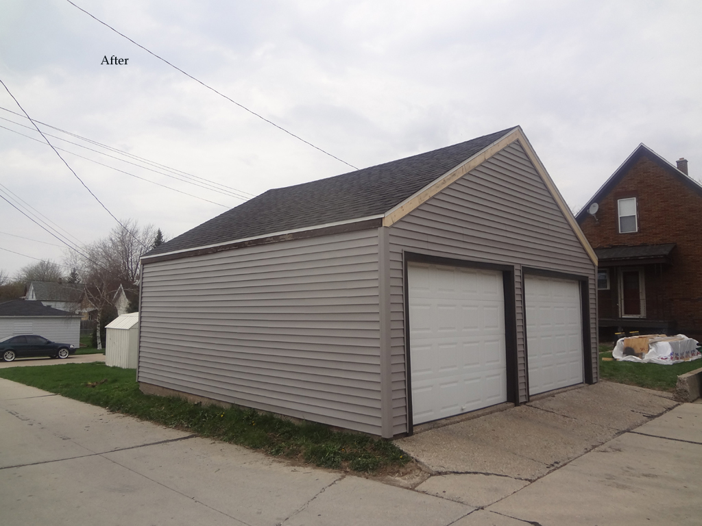 ... Photos Of A Re Roofing And Re Siding Project In Cudahy, WI. The Work On  Homeowneru0027s Home And Garage Was Provided By All Secure Roofing.